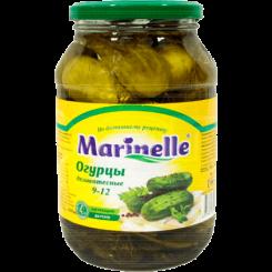 Огурцы Marinelle маринованные 9-12 см 1000 мл