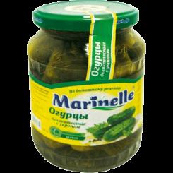 Огурцы Marinelle деликатесные с укроп 6-9 см 720 мл