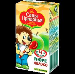 Пюре Сады Придонья яблочное 125 мл