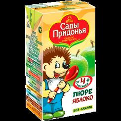 Пюре Сады Придонья яблоко-персик 125 мл