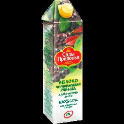 Нектар сок Сады Придонья яблоко-черноплодная рябина 1 л