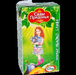 Нектар сок Сады Придонья яблочно-сливовый 125 мл