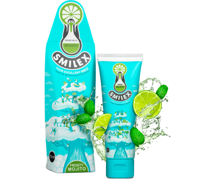 Зубная паста  SPLAT SMILEX FROSTY MOJITO / МОРОЗ МОХИТО 75 мл