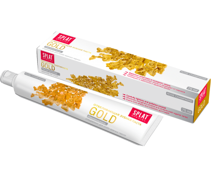 Зубная паста  Splat  Special GOLD / ЗОЛОТО 75 мл