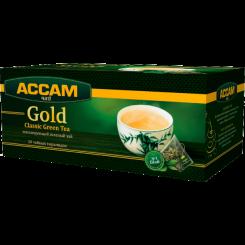 Чай Assam Gold CLASSIC GREEN, в пирамидках 20х1.8 г