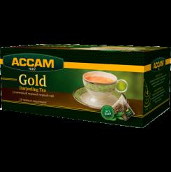 Чай Assam Gold DARJEELING' в пирамидках 20х1.8 г