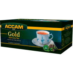 Чай Assam Gold EARL GREY, в пирамидках 20х1.8 г
