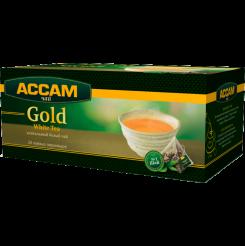 Чай Assam Gold WHITE, в пирамидках 20 пакетиков по 1.8 г