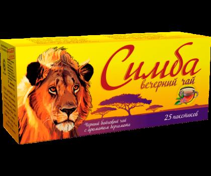 Чай Simba Evening пакетированный 25 пакетиков по 2 г