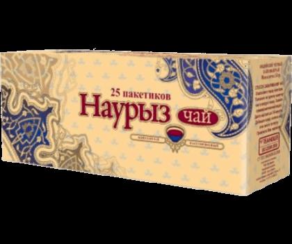Чай Наурыз NEW пакетированный 25 пакетиков по 2 г