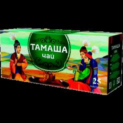 Чай Тамаша пакетированный 25 пакетиков по 1.8 г