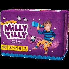 Детские ночные подгузники Milly Tilly,  Юниор 5 (11-25 кг), 30 шт.