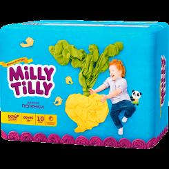 Одноразовые детские пеленки Milly Tilly 60х60 см, 10 шт.