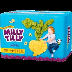 Одноразовые детские пеленки Milly Tilly 60х60 см, 5 шт.