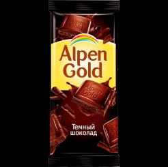 Темный шоколад, Alpen Gold флоу-пак, 90 г