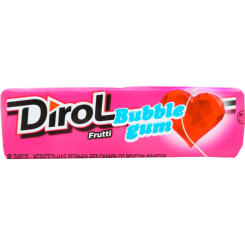 Жевательная резинка Dirol Фрутти со вкусом фруктов без сахара, 13.6 г